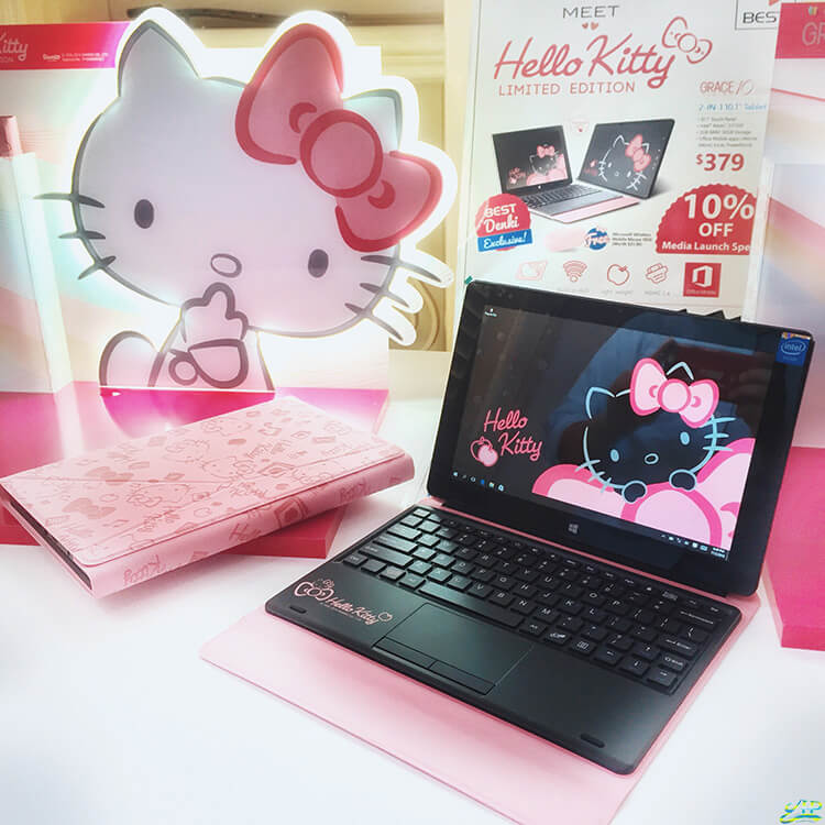 Limited Edition Hello Kitty Grace 10 Tablet Available In Singapore