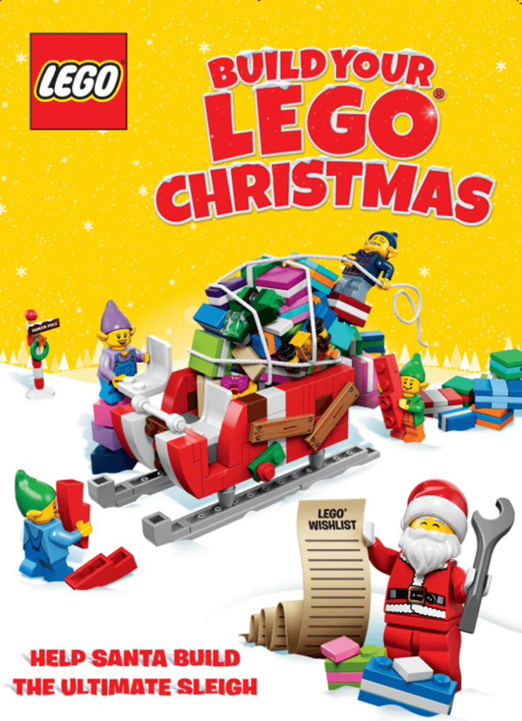 Redeem the 4 Limited Edition LEGO Christmas Mini-build sets only ...